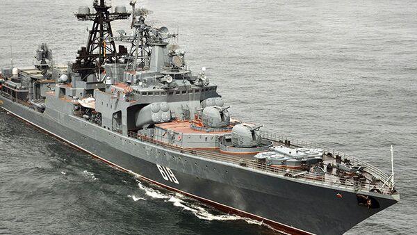 Le destroyer russe Severomorsk - Sputnik Italia