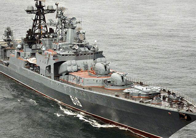 Nave anti-sommergibile Severomorsk (foto d'archivio)