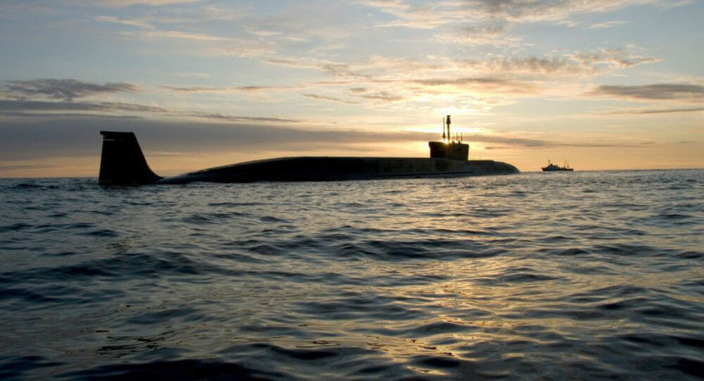 Borey-Class Strategic Submarine Yuri Dolgoruky