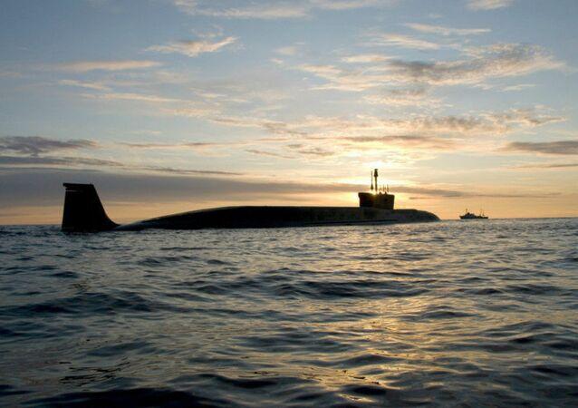 Sottomarino strategico russo (foto d'archivio)