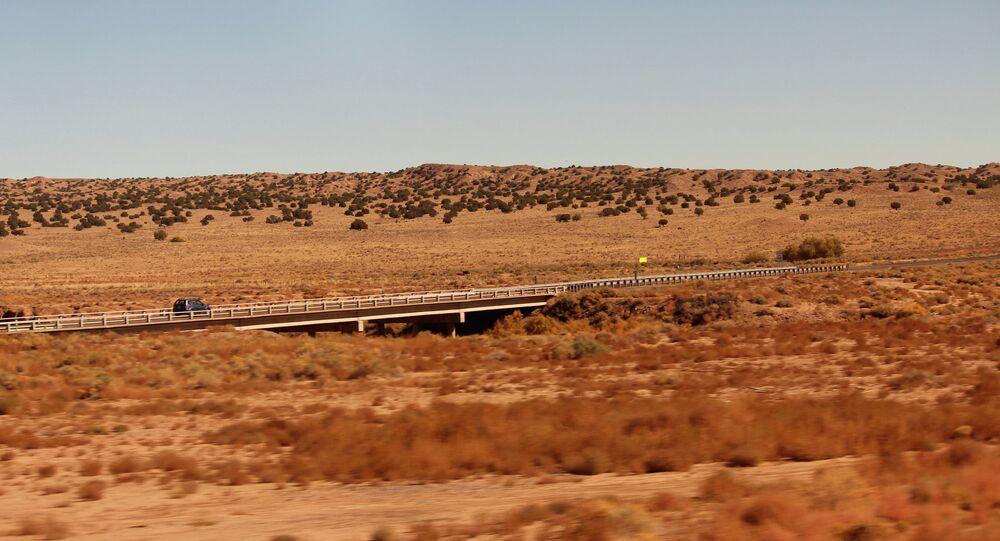 Lo stato di Nuovo Messico (New Mexico), USA