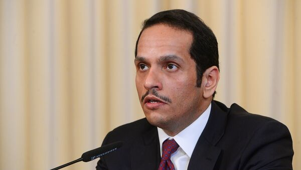 Mohammed bin Abdulrahman al Thani, ministro de Exteriores catarí (archivo) - Sputnik Italia