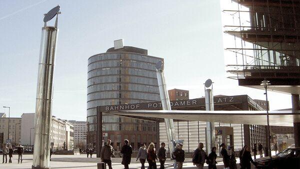 L'ingresso alla stazione della metropolitana berlinese di Potsdamer Platz - Sputnik Italia