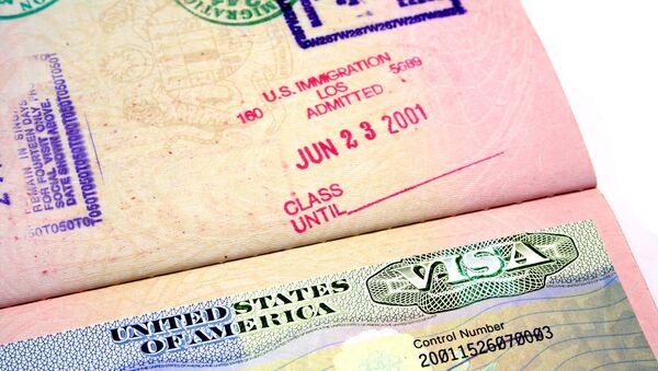 US Visa - Sputnik Italia