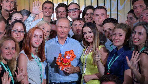 Musica, Putin in visita in Crimea - Sputnik Italia