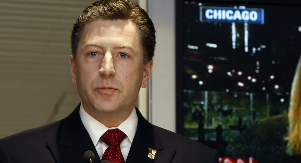 US Special Representative for Ukraine Negotiations Kurt Volker