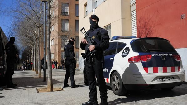 Mossos d'Esquadra, polizia regionale catalana (foto d'archivio) - Sputnik Italia