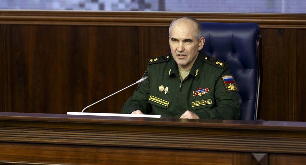 Sergey Rudskoy, capo del Direzione operazione dello stato maggiore