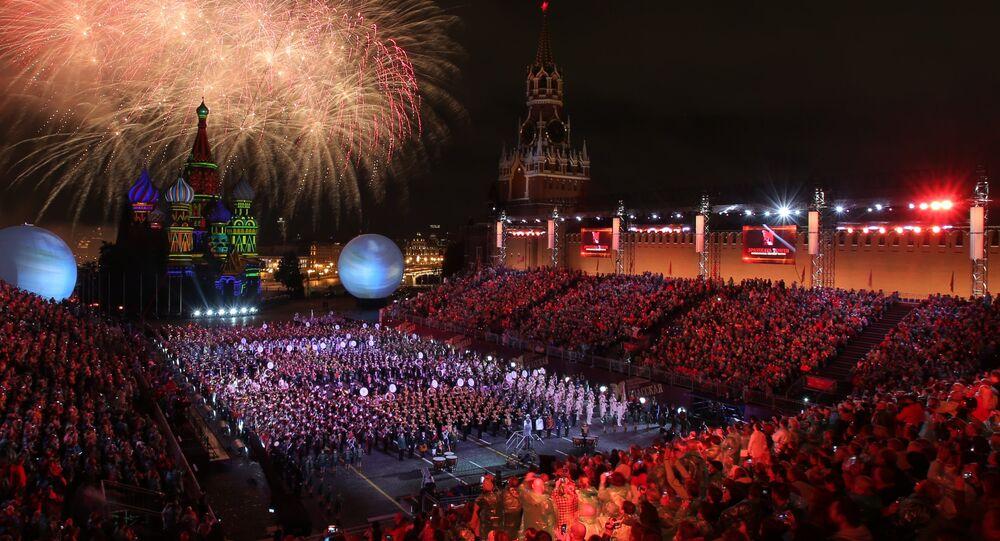 Festival musicale delle orchestre militari Torre Spasskaya (edizione 2016)