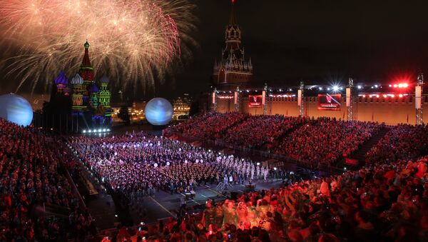 2016 Spasskaya Tower International Military Music Festival closes in Moscow - Sputnik Italia