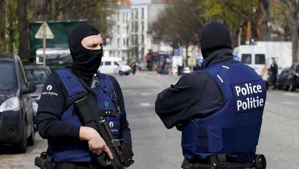 Polizia a Bruxelles, Belgio - Sputnik Italia