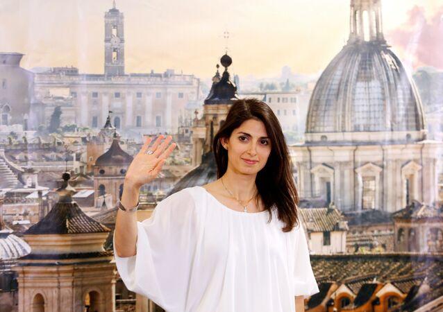Virginia Raggi, sindaca di Roma