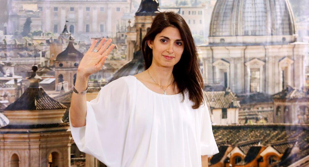 Virginia Raggi, sindaco di Roma