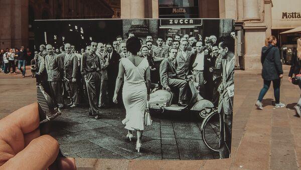Mario De Biasi, «Gli italiani si voltano», 1954 - Sputnik Italia