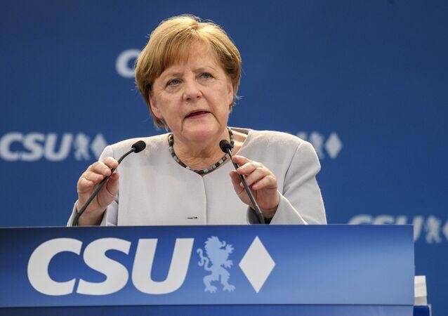Il cancelliere tedesco Angela Merkel (foto d'archivio)