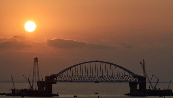 Costruzione del ponte di Kerch - Sputnik Italia
