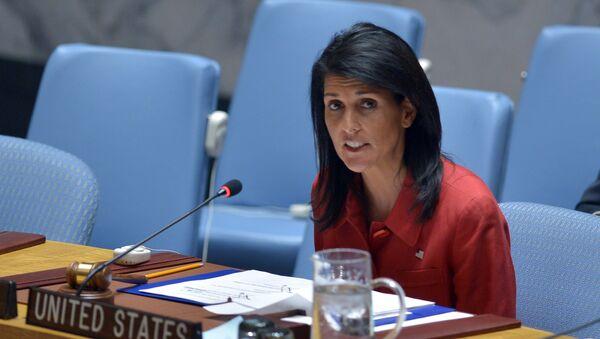 L'ambasciatore americano alle Nazioni Unite Nikki Haley - Sputnik Italia