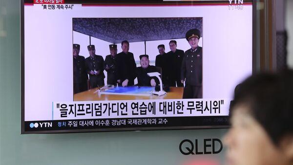 Le notizie su un nuovo test missilistico della Corea del Nord. - Sputnik Italia