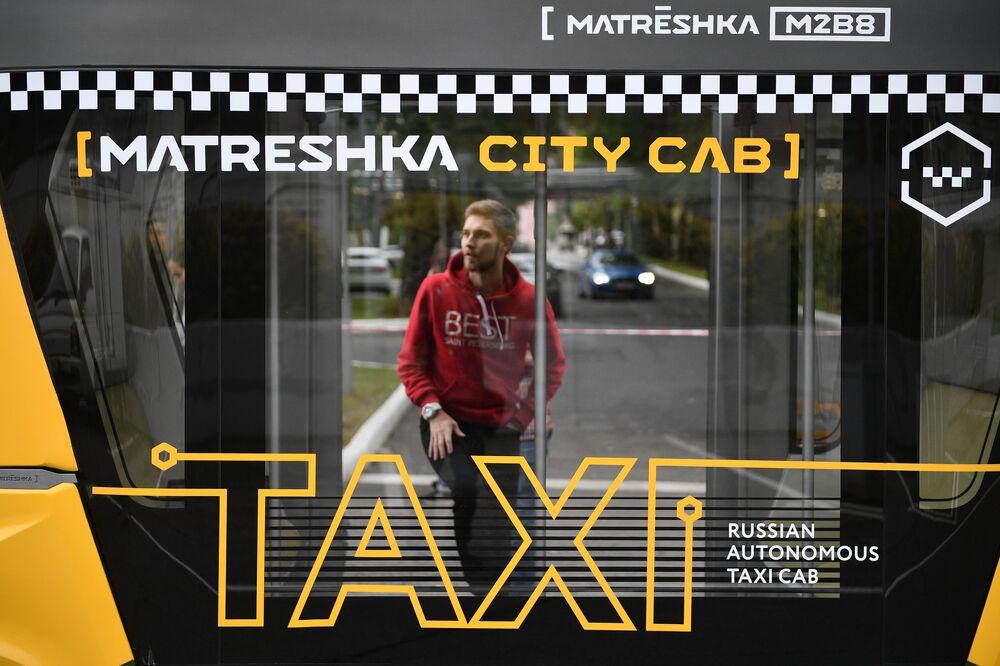 Il primo test dell'autobus automatico MatrЁshka