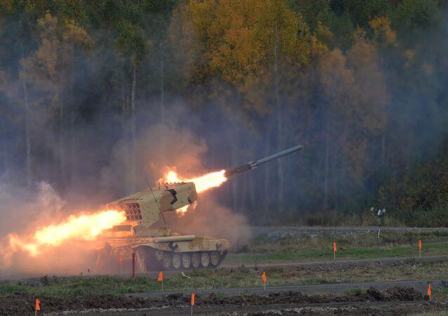 Lanciarazzi multiplo TOS-1A