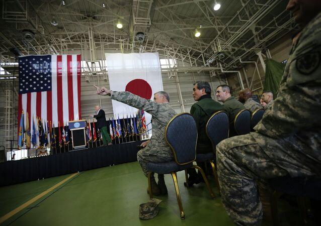 Militari americani in Giappone (foto d'archivio)