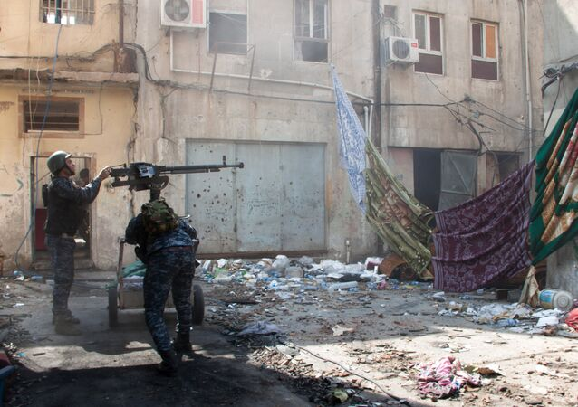 Combattimenti nelle strade di Mosul