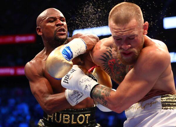La sfida tra Floyd Mayweather Jr. e Conor McGregor a Las Vegas. - Sputnik Italia