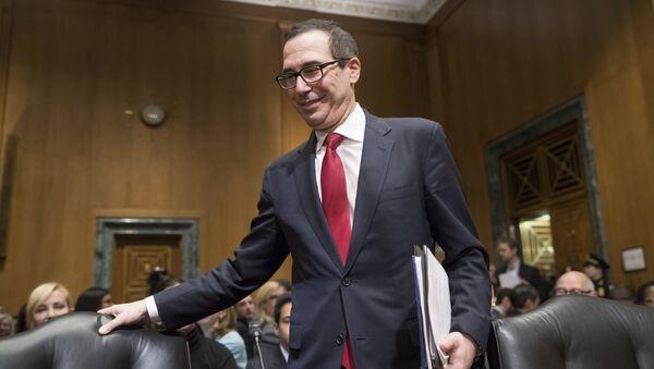 Segretario del Tesoro americano Steven Mnuchin - Sputnik Italia