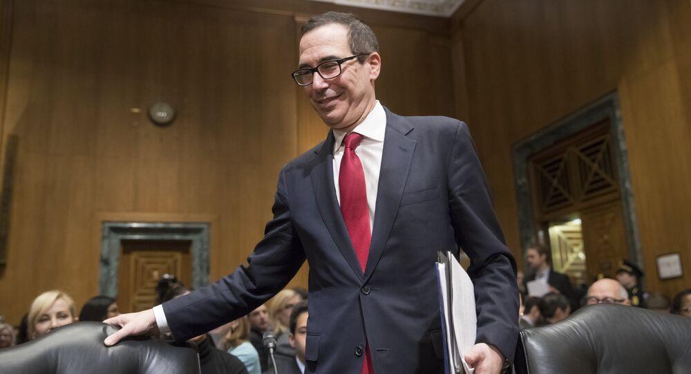 Segretario del Tesoro americano Steven Mnuchin