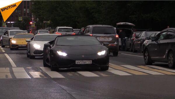 """In Russia inaugurata la mostra """"Lamborghini: leggenda del design"""" - Sputnik Italia"""