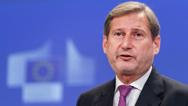 Commissario UE per la politica di vicinato e i negoziati per l'allargamento Johannes Hahn - Sputnik Italia