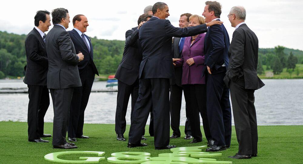 I leader del G8 in una foto d'archivio.