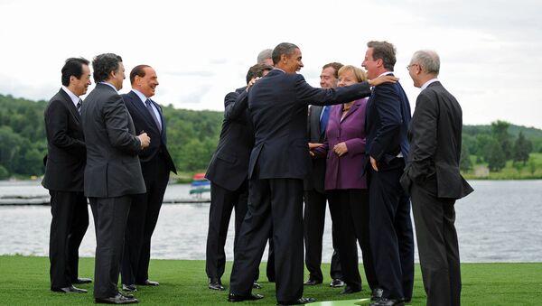 I leader del G8 in una foto d'archivio. - Sputnik Italia