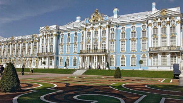 Il palazzo di Caterina, a Tsarskoe Selo, progettato dall'architetto italiano Rastrelli - Sputnik Italia