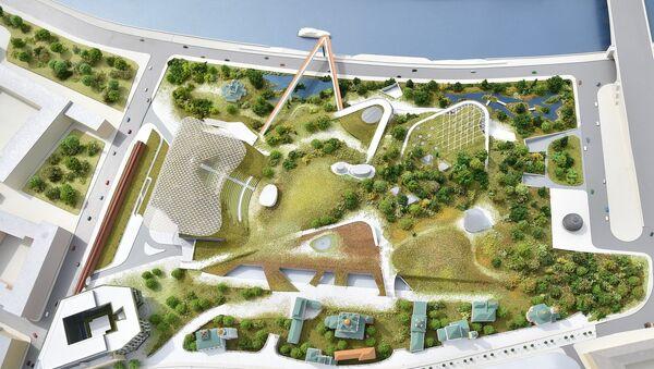 Progetto del parco Zaryadye - Sputnik Italia