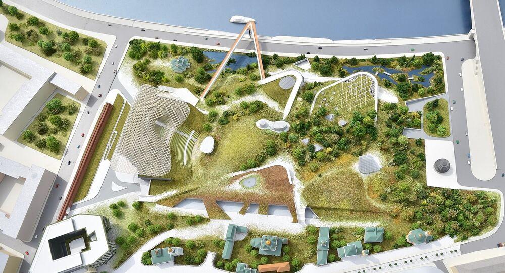 Progetto del parco Zaryadye