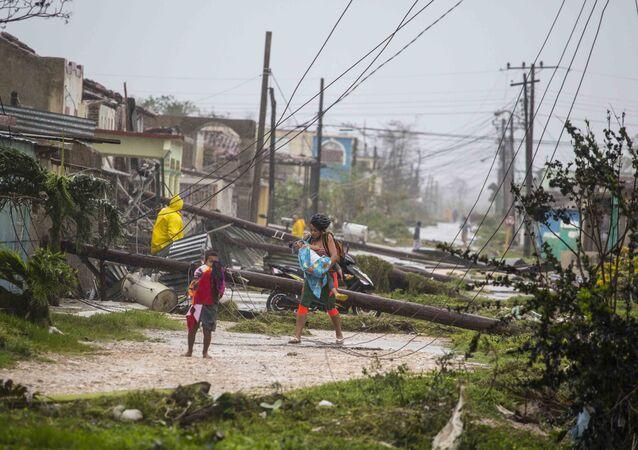 Danni a Cuba per il passaggio dell'uragano Irma
