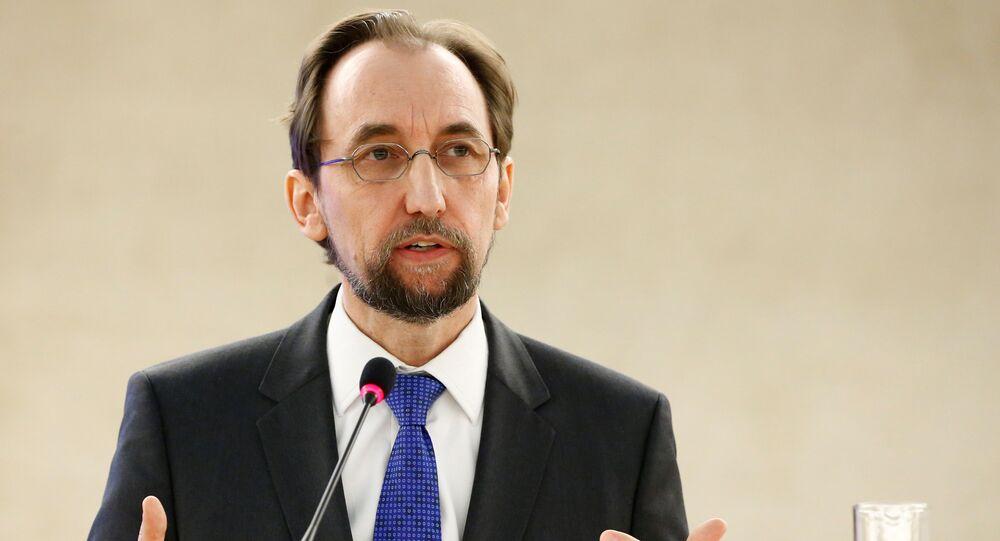 l'Alto Commissario delle Nazioni Unite per i diritti umani Zeid Ra'ad Hussein