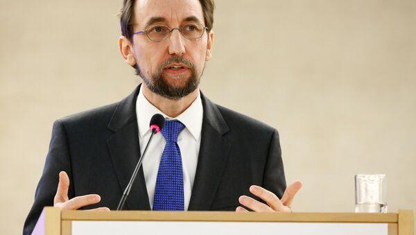 l'Alto Commissario delle Nazioni Unite per i diritti umani Zeid Ra'ad Hussein - Sputnik Italia