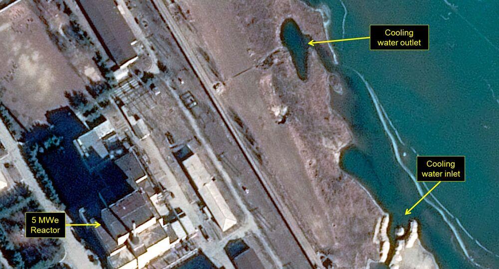 La mappa di una centrale a Yongbyon, in Corea del Nord
