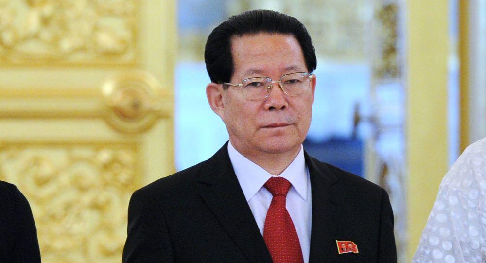 Ambasciatore della Corea del Nord in Russia Kim Yong-jae
