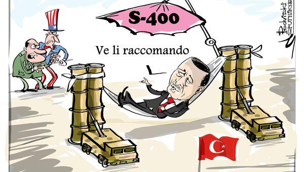 Erdogan: USA infuriati per accordo su S-400 con Russia - Sputnik Italia