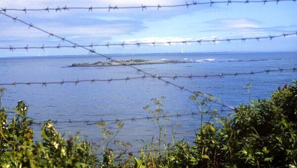 La veduta dello stretto Sovetsky nel Pacifico tra la Russia e il Giappone - Sputnik Italia