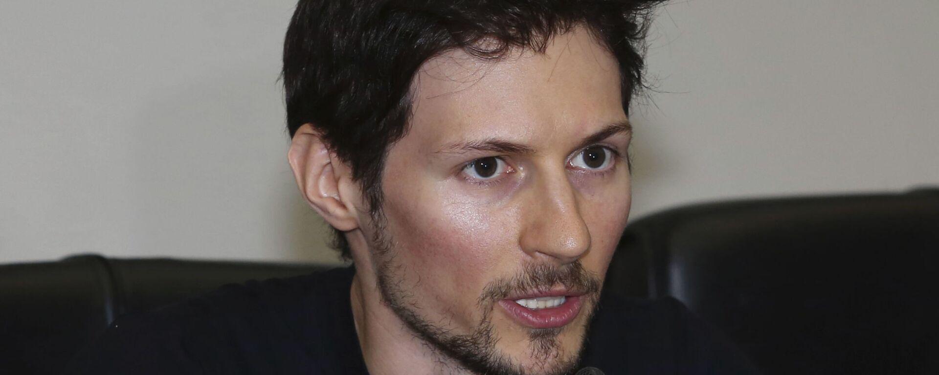 Создатель мессенджера Telegram Павел Дуров  - Sputnik Italia, 1920, 21.05.2021