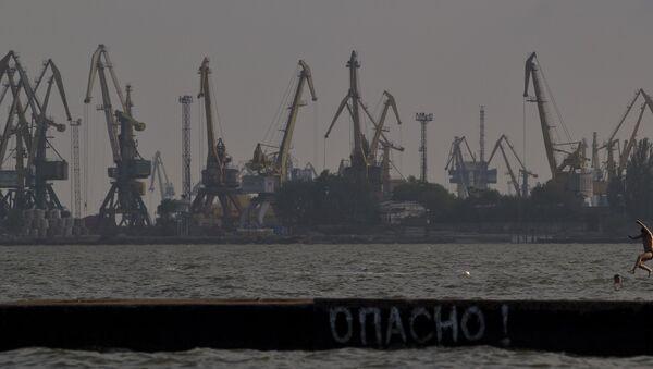 Il porto di Mariupol nel mar d'Azov - Sputnik Italia