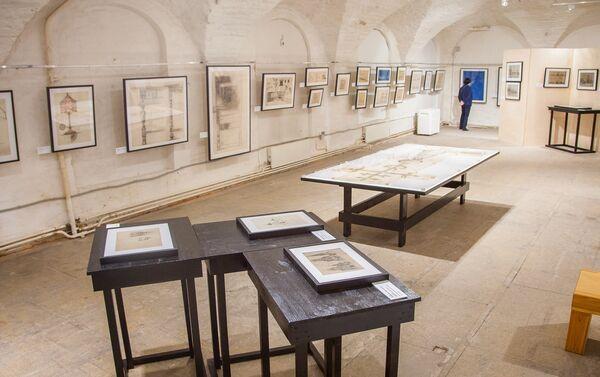 Molti dei disegni esposti alla mostra Le opere italiane di Shchusev vengono mostrati al pubblico per la prima volta - Sputnik Italia