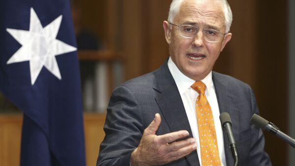 Il primo ministro australiano Malcolm Turnbull - Sputnik Italia