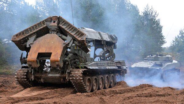 Il secondo giorno delle esercitazioni militari di Russia e Bielorussia Zapad-2017 - Sputnik Italia