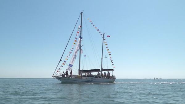La regata nella Crimea - Sputnik Italia