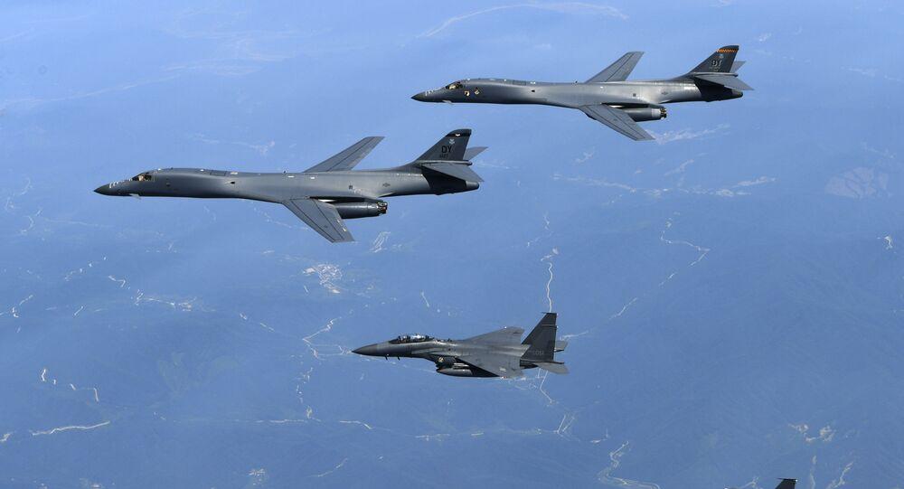 Esercitazioni aeree congiunte di USA e Corea del Sud (foto d'archivio)
